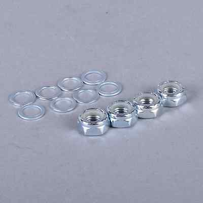 Sushi Skateboards Replacement Skateboard Axle Nuts And Washers