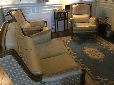 Elegant Edwardian Sofa And Chairs