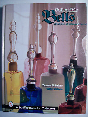 Antique Bells Price Value Guide Collector's Book Glass Metal