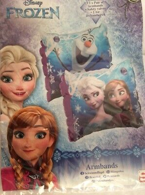 Disney Frozen  Arm Bands  Swimming Inflatable Frozen Armbands New