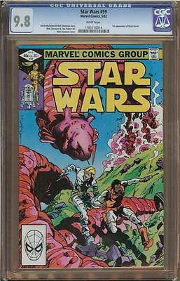 Star Wars #59 CGC 9.8 White Pages   #1161710014