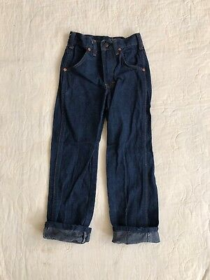 1960s vintage KIDS boys branders denim jeans
