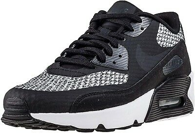 cheap for discount e30dc 56676 Nike Air Max 90 Ultra 2.0 SE GS Boys Girls Women s Trainers Shoes Black Grey