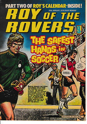 ROY OF THE ROVERS Comic - 20 January 1979
