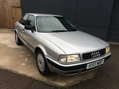 1992 Audi 80 E 2.0 Auto Lady Owned From New / Full Supplying Dealer History