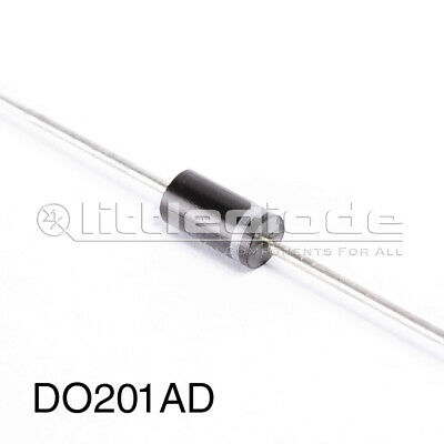 BY1600 DIOTEC//VISHAY gleichrirchter Diode 1600V 3A DO201 NEW #BP 2 PCs