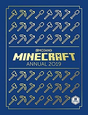 Minecraft Annual 2019 by Mojang AB 9781405291125