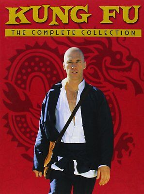 Kung Fu Complete Series Collection DVD Set TV Show Season 1 2 3 Episodes Lot Box
