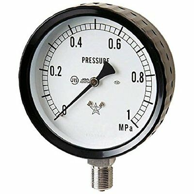 Right lower stainless steel pressure gauge G2111610.6MP