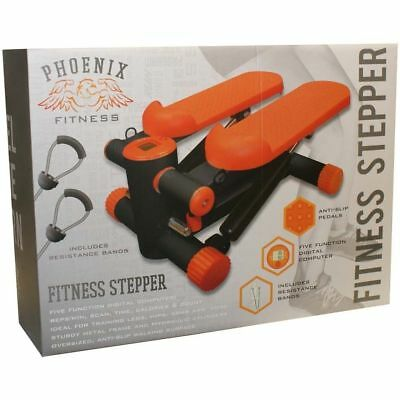 Exercise Stepper Mini Aerobic Fitness Machine Pulling Rope Sport Home Gym
