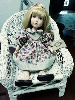 Boyds Collection Porcelain Doll - Lynne
