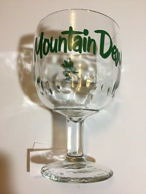 Mt Dew Glass