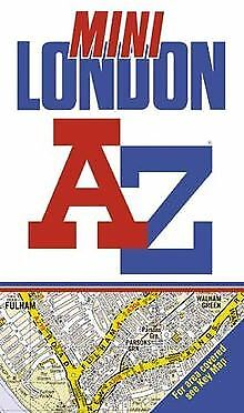 A-Z Mini Street Atlas of London by Geographers' A-Z M... | Book | condition good