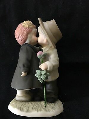 """Love Endures All Things"" Kim Anderson by Enesco 1999 porcelain bisque Figurine"