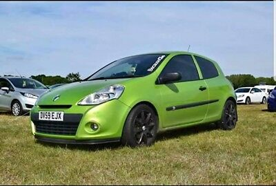 2009 renault clio 1.2 extreme 3 door first car some modifications no reserve