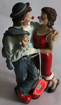 Gilde Clown, ' Sven & Svenja '  Clubediction 2005,  ca. 21 cm Hoch