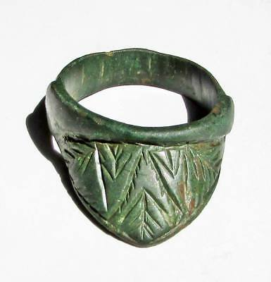 "ANCIENT ROMAN LEGIONARY  BRONZE"" Archers' Ring"" RARE."
