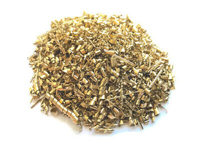 Brass Shavings 1 LB Pound Coarse Orgone Organite Metal Healing