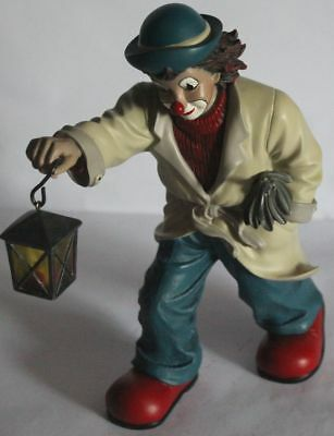 Gilde Clown, ' der Heimleuchter ' Sonderedition 2000, ca 20,5 cm Hoch