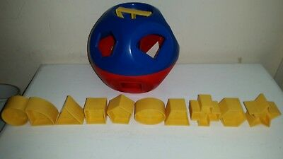 Tupperware Vintage Shape-O-Ball Shape Sorter For Infants