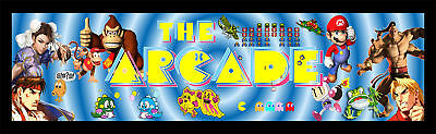 Mame The Arcade Classics Multicade Marquee For Reproduction Header/Backlit Sign