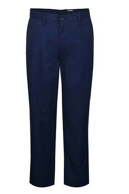 "National Safety Apparel TCG501628X32 Tecgen Select Mens Work Pant, 28x32"", Navy"