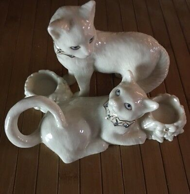 Lenox Cats Jeweled CANDLE HOLDER FROM CAT HOME DECOR COLLECTION