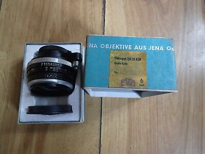 Carl Zeiss Jena High Quality Vintage Camera Lense (good Condition)