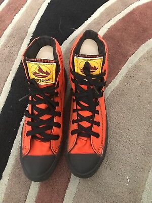 Vintage Converse Mountian Club High Top Made In USA Orange