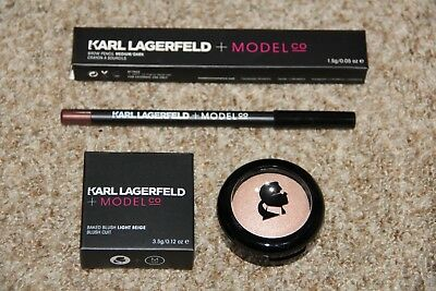 Karl Lagerfeld + Model CO,Baked Blush + Brow Pencil  *NEU*   OVP
