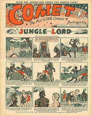 THE COMET - UK COMIC COLLECTION 1940s-1950s - 146 COMICS WITH VIEWING SOFTWARE
