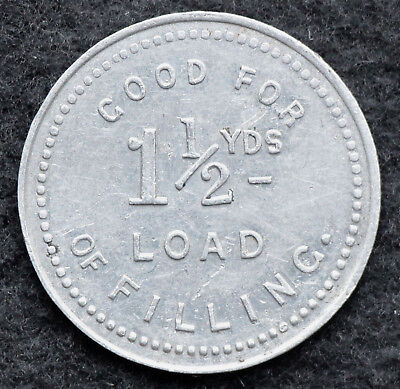 CANADA: Ottawa Improvement Commission Token 1-1/2 Yard Load Fill Bowman 760-AO-B