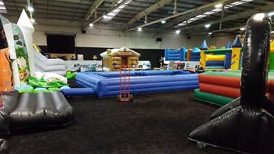 Giant Bouncy Castle Trade Show London Sunday 30Th September