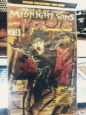 Morbius#1. Sept/1992. Sealed In Bag. Mint Condition