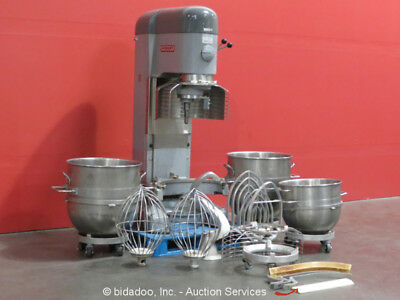 Hobart V1401 Commercial Industrial Food Preparing Mixer 80-140 QT Stainless 3 PH