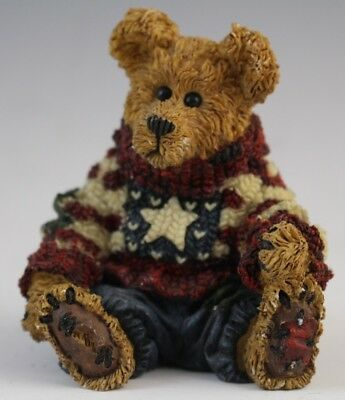 Eddie Proud to Be Bearmerican Boyds Bears & Friends Collectible Figurine