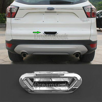 2013-2016 For Ford Kuga Escape Trunk Rear Door Handle Bowl Cover Trim Chrome