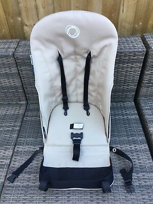 Bugaboo Cameleon Beige Seat Fabric Harness With Board And Foam