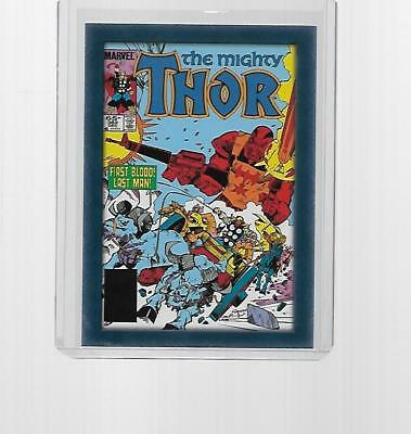 2011 Upper Deck Marvel Thor Comic Covers Insert #t7