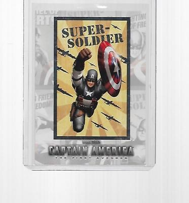 2011 Upper Deck Marvel Captain America Poster Series Insert #p-3