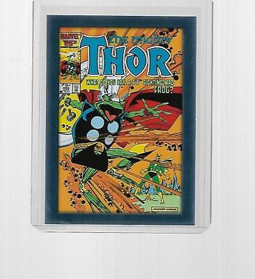 2011 Upper Deck Marvel Thor Comic Covers Insert #t8