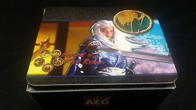 L5R Crane Clan Deck Box Vintage OOP for Legend of the Five Rings LCG CCG