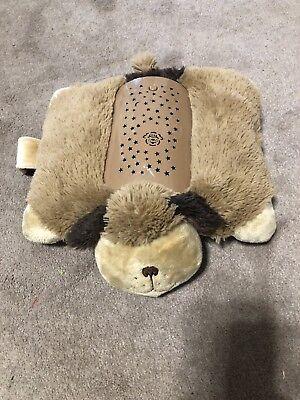 Pillow Pets Dream Lites Dog Puppy Plush Nightlight Stars on Ceiling