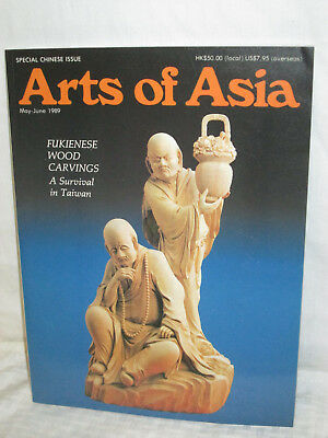 Arts of Asia Magazine Back Issue May June 1989