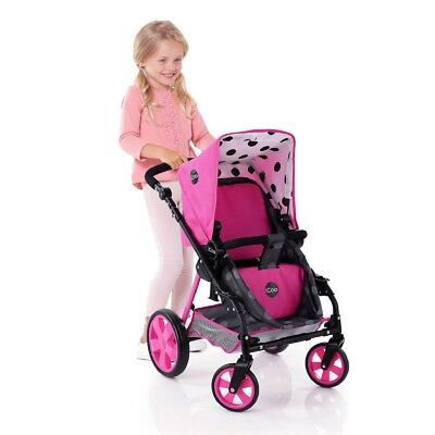 Icoo Buggy Newborn 3 in1 Dol Stroller Pushchair With Adjustable Handle  UK