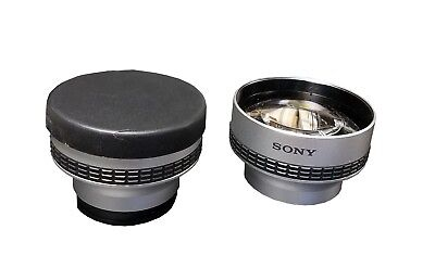 *LOT OF 2* 37 MM Sony Camcorder Telephoto Lens Tele Conversion x2.0 VCL-R2037 S