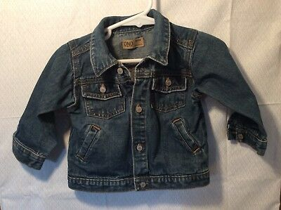 Boys Or Girls Size Newborn OLD NAVY Denim Jean Jacket ~CUTE~