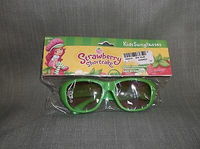 STRAWBERRY SHORTCAKE SUNGLASSES-green color-100% UV protection-new-Pretty!
