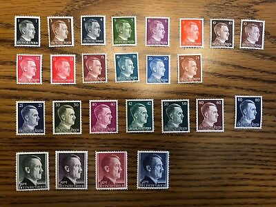 Germany Deutsches Reich Stamp Set MNH XF