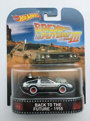 Hot Wheels Retro Back To The Future Part Iii Delorean 1955